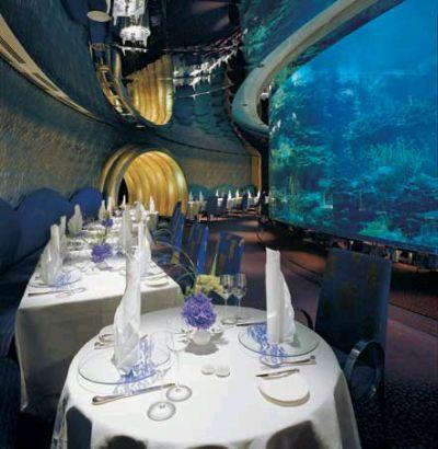 Restaurante Submarino, Burj Al Arab, Dubai