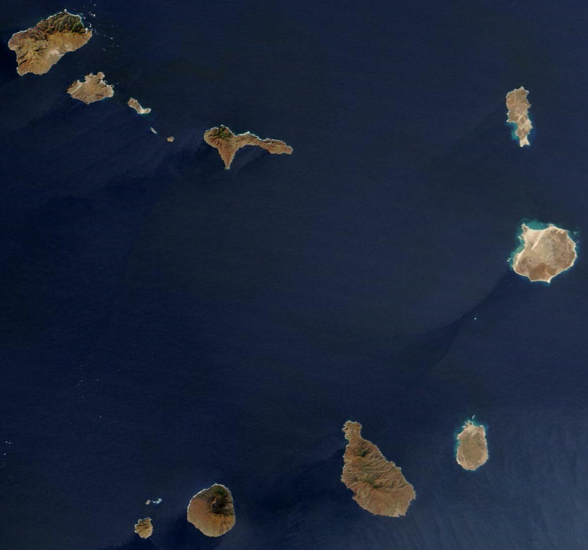 Cabo Verde:Imagen satélite