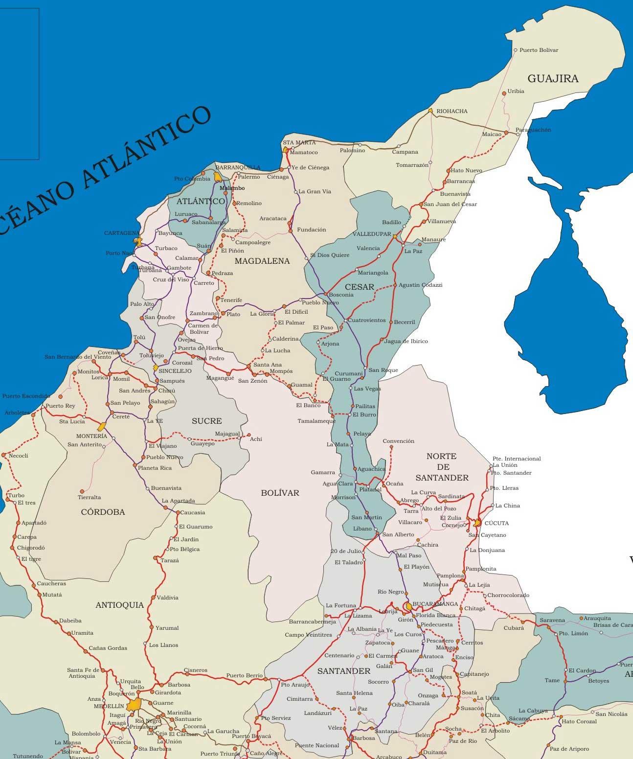 El viaje continental colombia for Marmoles y granitos zona norte
