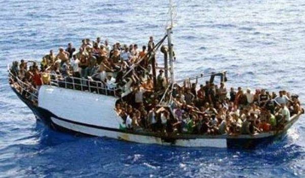 N'est-il pas complot international des réfugiés naufragés Africains...