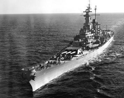 USS Missouri genannt, war das dritte Schlachtschiff der Iowa-Klasse der U.S.Navy.  Sie wurde am 6.Januar 1940 in der New York Naval Shipyard  auf Kiel gelegt.