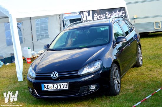 vw scene rendsburg golf vi variant von sandra. Black Bedroom Furniture Sets. Home Design Ideas