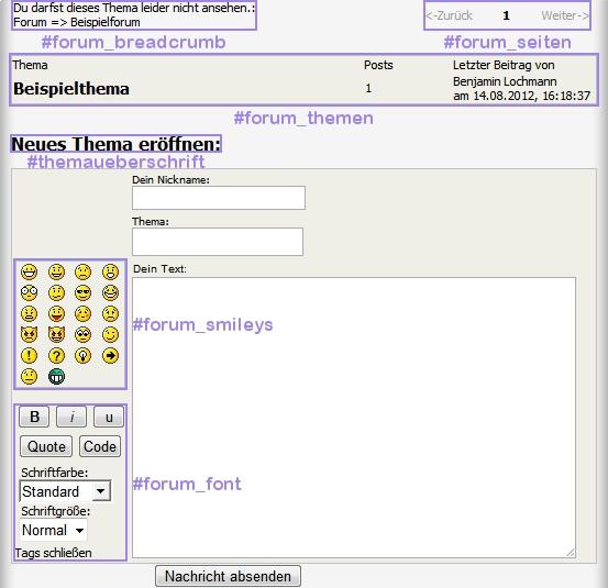 Forum Kategorie