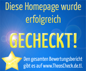 Theos Check sehr gut