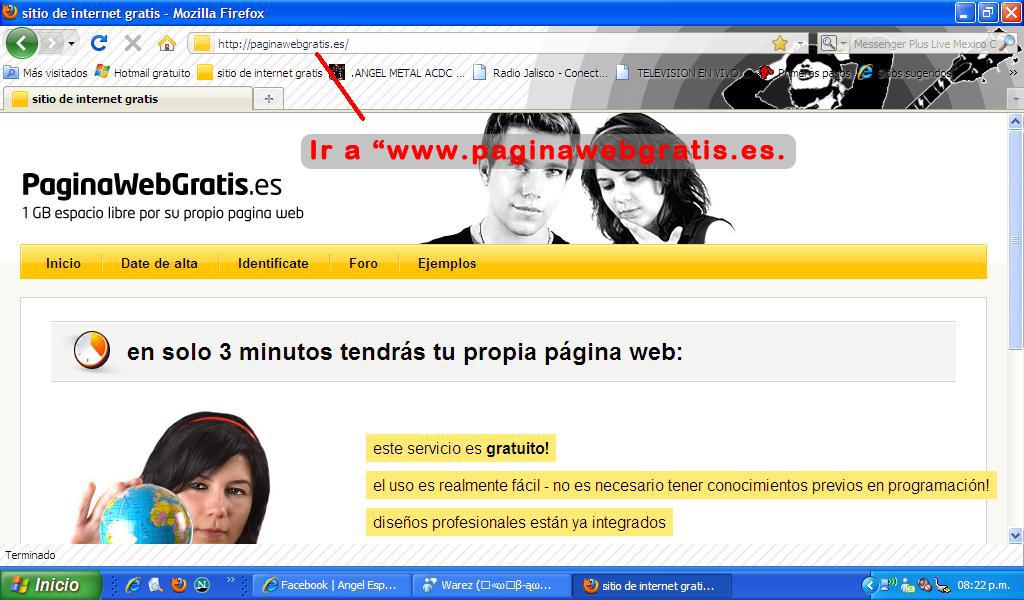 Como hacer tu pagina web