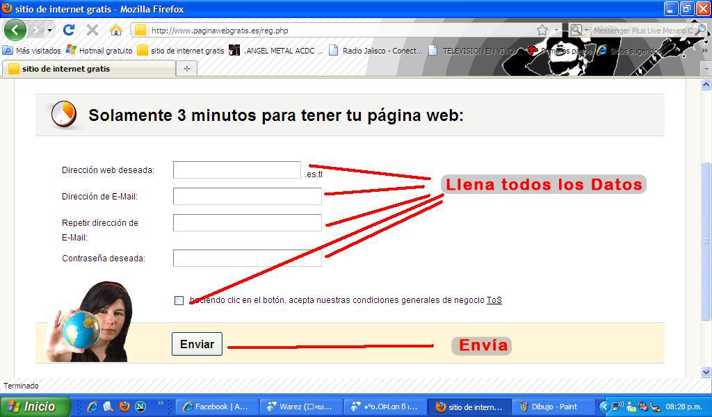 Haz tu web