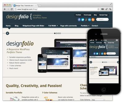 Albany web design portfolio