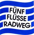 Logo des Fünf-Flüsse-Radweges