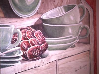 Arti-ko, gemalte Bilder im Realismus von Lissa Wenderoth, Völklingen, gelistet als r8