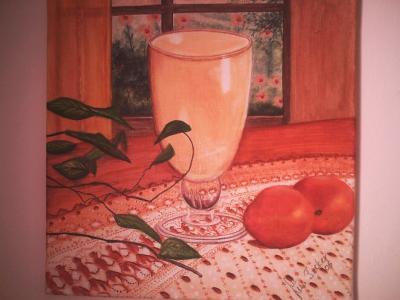 Erfrischung, gemalt von Lissa Wenderoth, Völklingen, gelistet als r11