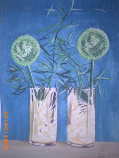 Pusteblumen, gemalt von Lissa Wenderoth, gelistet als r14