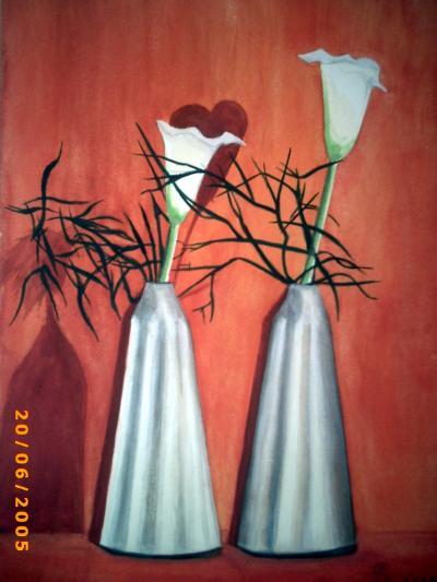 Der Besuch 1, gemalte Bilder von Lissa Wenderoth, Völklingen, gelistset als r10