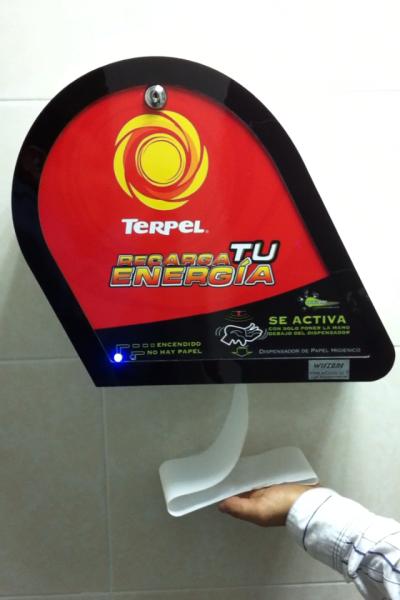 Dispensador Terpel, sensor de aproximacion, DS-02