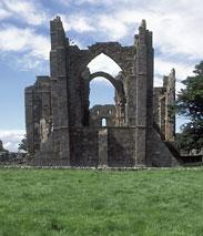 Die Ruinen des Klosters Lindisfarne
