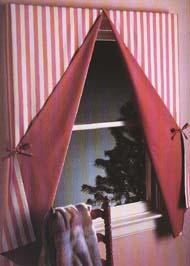 TENT FLAP CURTAINS & WINDOW BLINDS - TENT FLAP