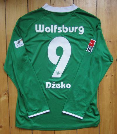 VfL Wolfsburg Trikotsammlung Trikot Spielertrikot matchworn