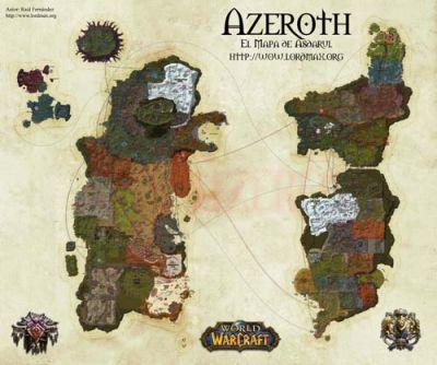 Mapa Reinos Del Este.Wow Reinosdeleste