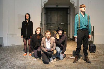 """Probenfotos 2013 Produktion """"Wunschlos Unglücklich"""" in der Reihe """"Theater an ungewöhnlichen Orten"""""""