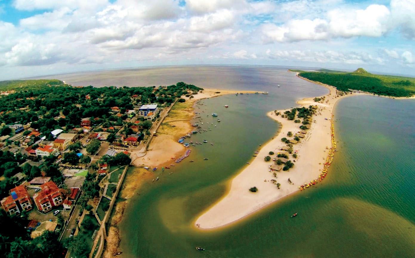 Praia- Alter do Chao- Passeios em Alter do Chão- Praias do rio tapajos.