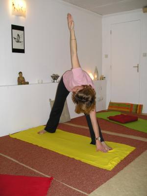 yoga  voie du changement  quelques postures