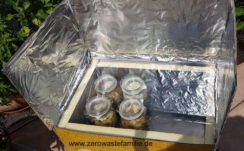 zerowastefamilie - Solarkocher