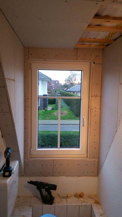 Zimmerei Sven Gerlach - Innenausbau mit Fenster