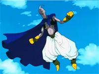 Majin Buu expusa o Buu Evil tras el descontrol de su ira