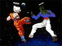 Goku Vs PaikuHan en el mas allá