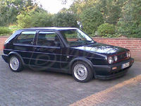 VW Golf 2 GTi - Edition Blue