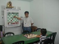 Giving Chess Clinic