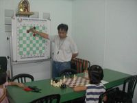 Chess Lectures to young students