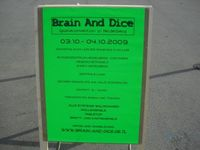 Brain and Dice 2009