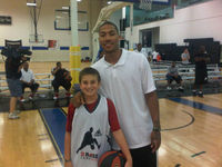 Derrick Rose Basketball Camp 2010.
