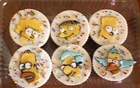 cupcakes simpsons