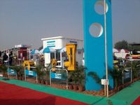 Outdoor Exhibition stall Branding