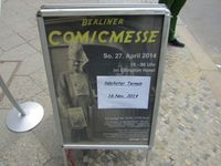 Berliner Comic Messe 27.04.2014
