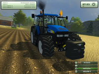 NewHolland test von Eicher 3145 Turbo