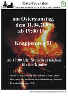 11.04.2009 - Osterfeuer