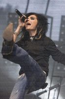 Bill is dancing :P