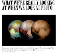 WHAT WE'RE REALLY LOOKING AT WHEN WE LOOK AT PLUTO?