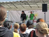 Vegan-vegetarisches Sommerfest Berlin 2012