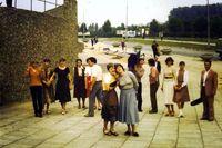 Święto Młodości w Kielcach 1982 r.