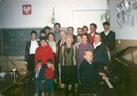 Spotkanie Zespołu w SP w Warzęgowie 1992 r.