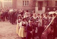 Pożegnanie Józefa Danaja 1990 r.