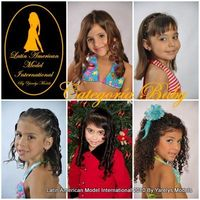 Candidatas Latin American Best Model 2010